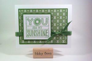 Green for Sunshine