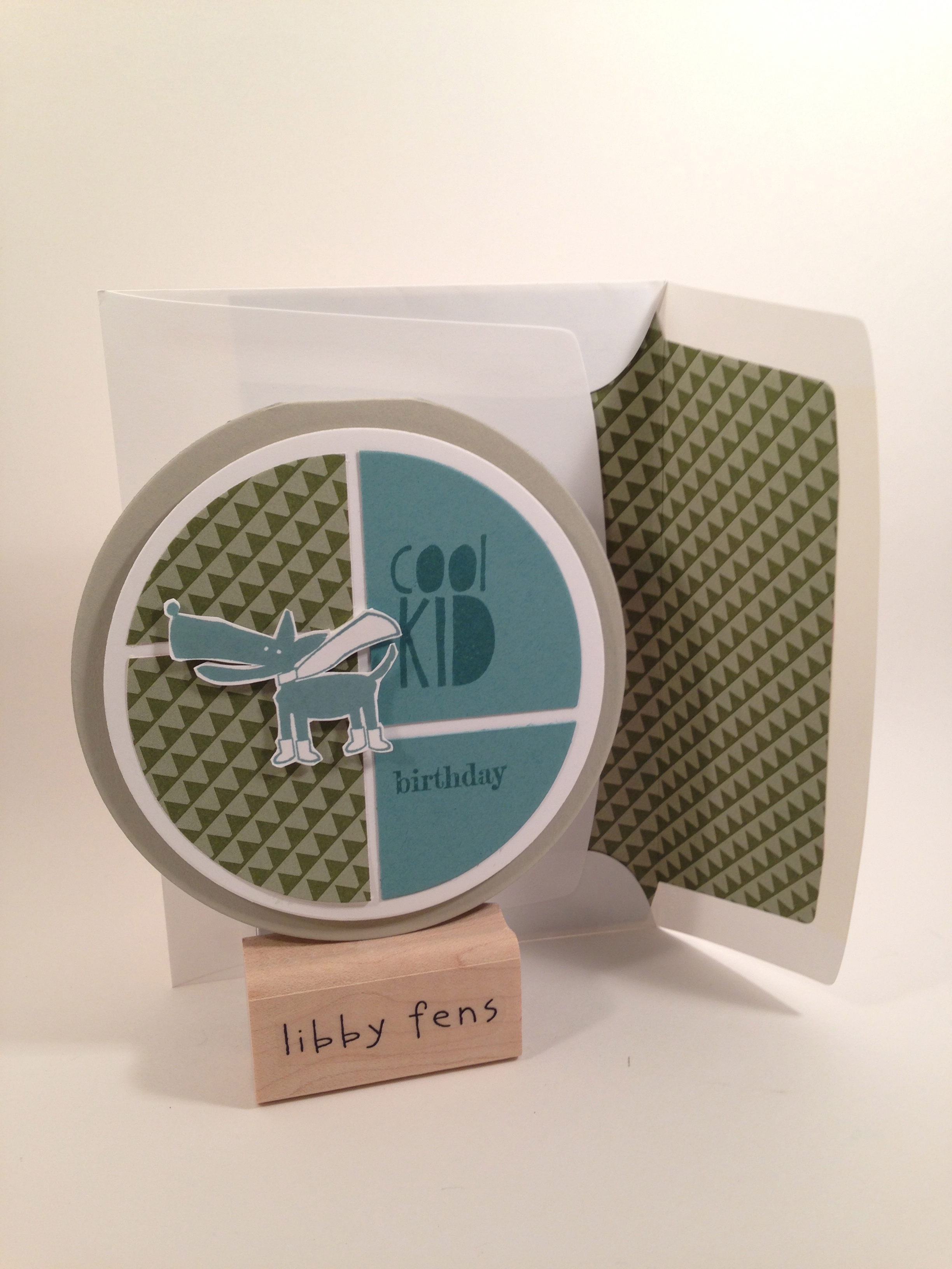 libbystamps, Cool Kid, Something to Say, Envelope Liners Framelits, Circles Collection Framelits