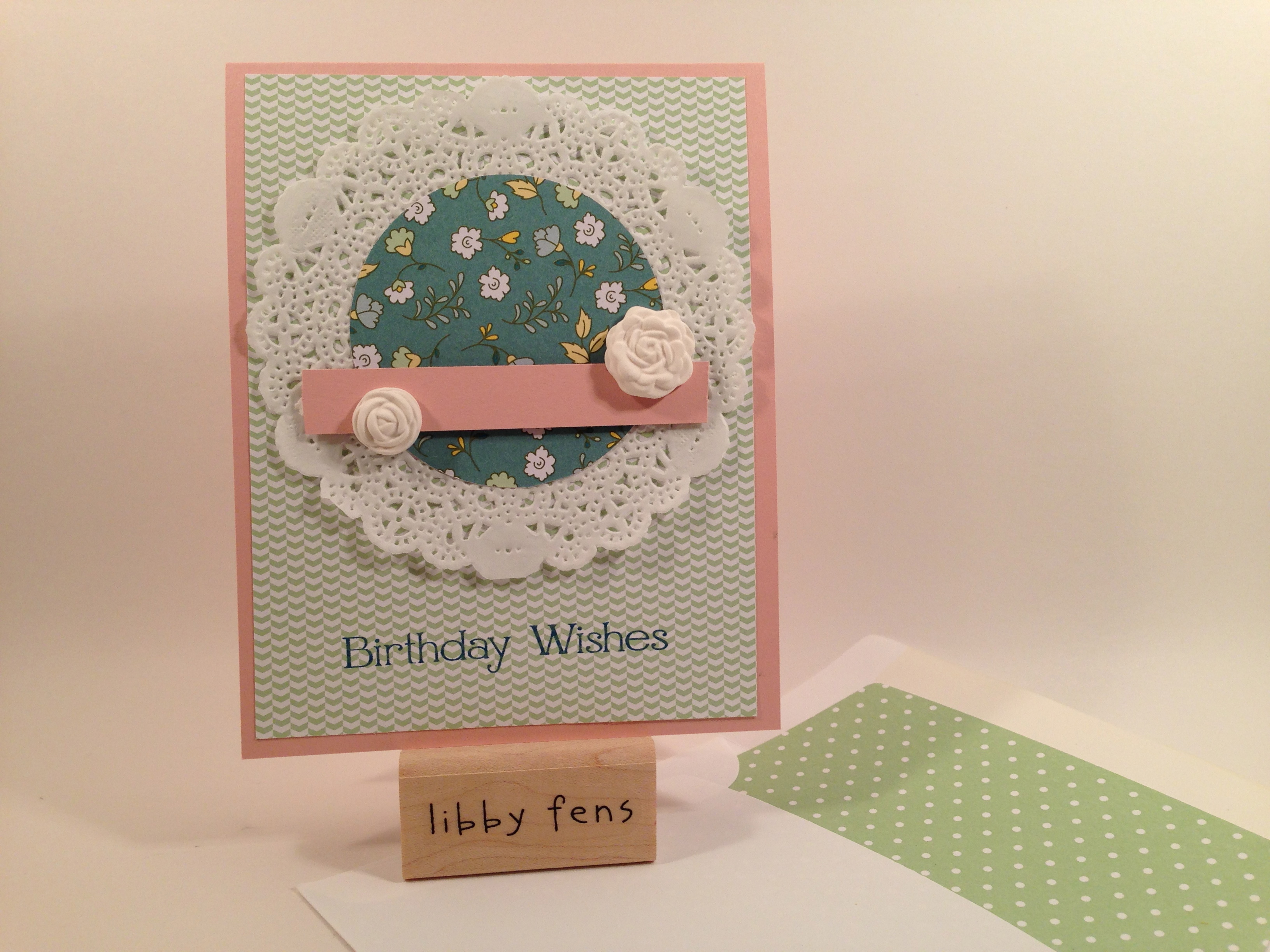 libbystamps, Four You, All Bloom DSP, Simply Pressed Clay