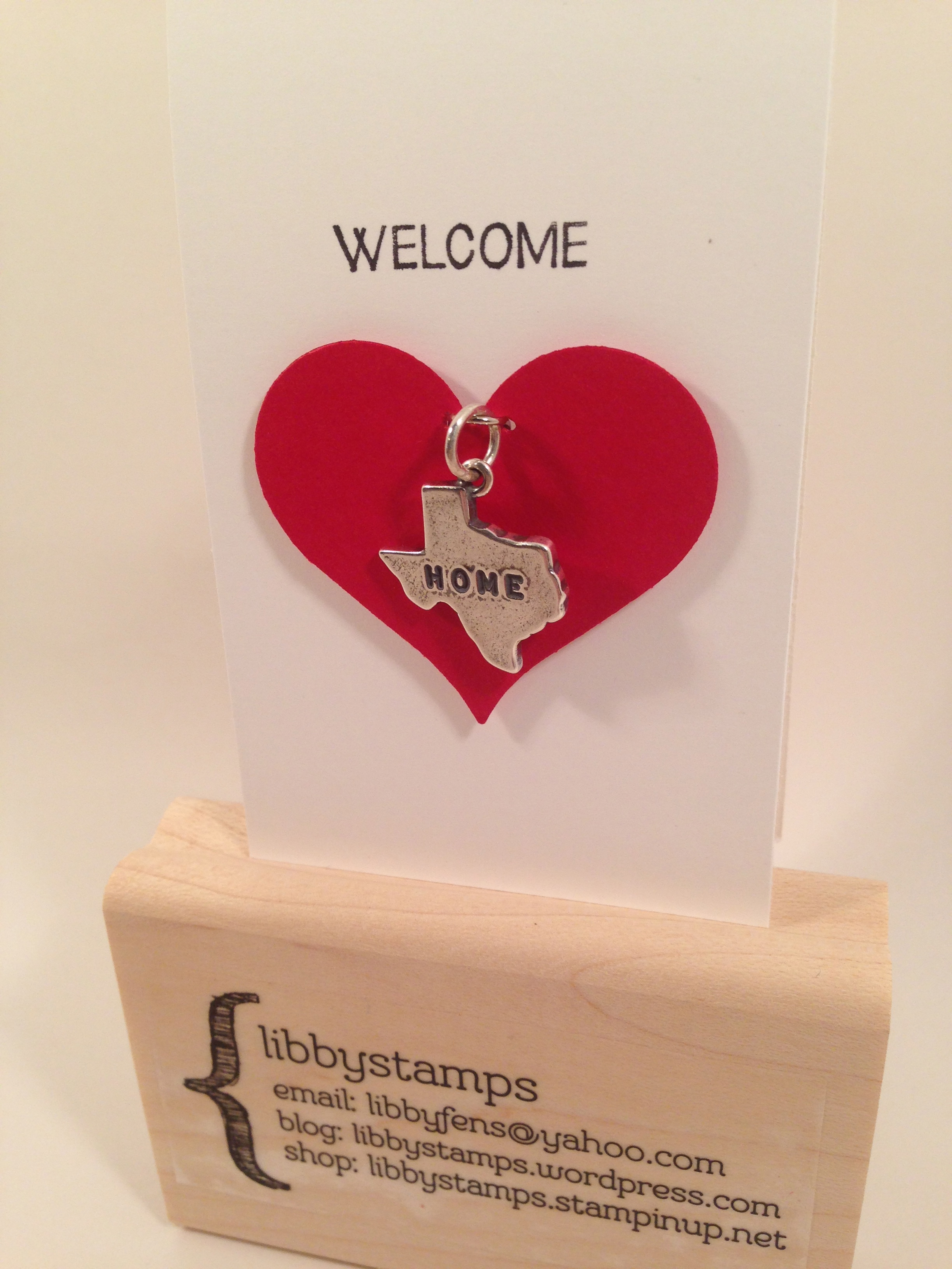 libbystamps, Stampin' Up, stampinup, James Avery, And Many More,  Sweetheart Punch