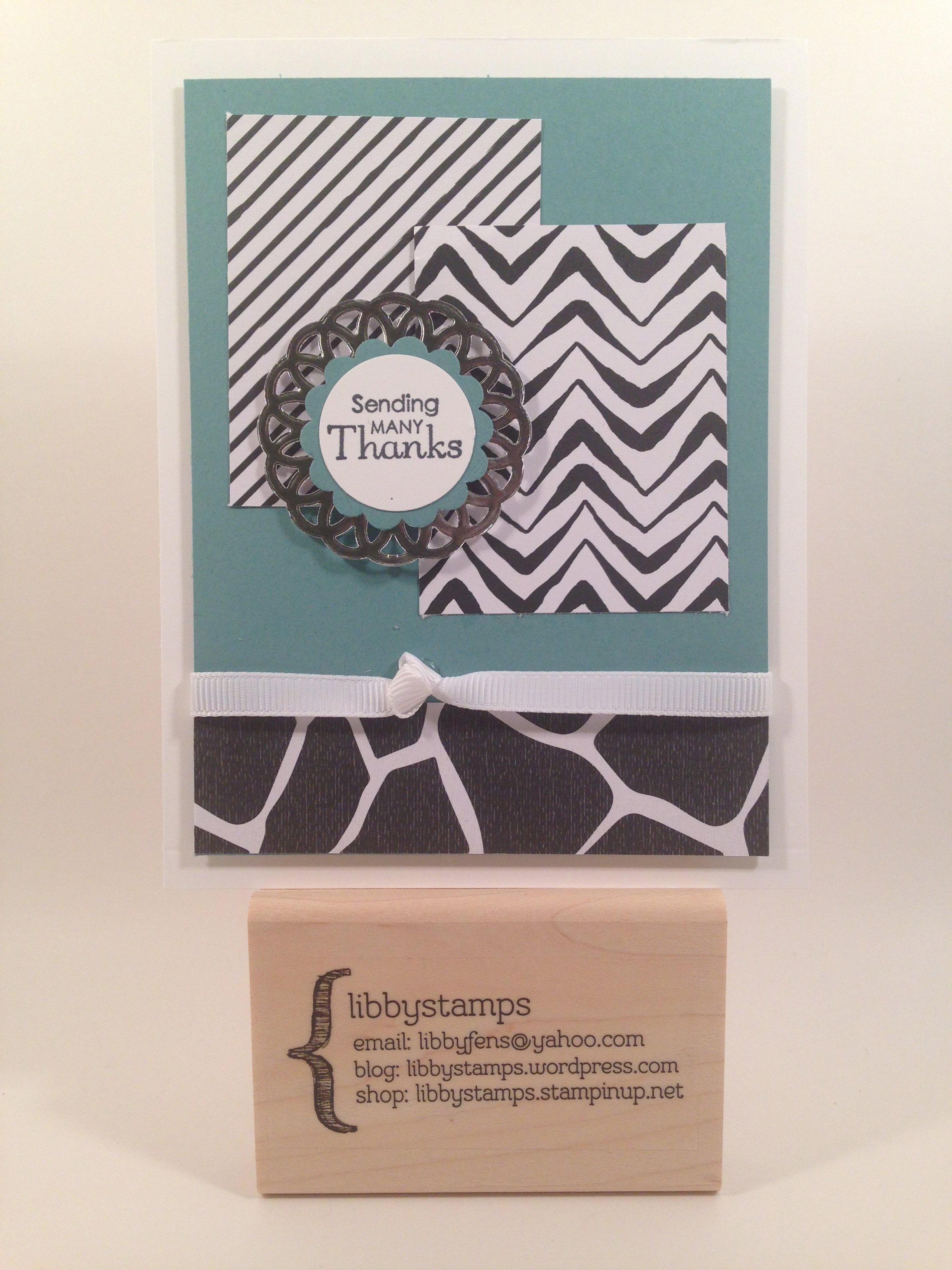 libbystamps, Stampin' Up, Petite Pairs Stamp Set, Go Wild DSP Stack, Metallic Foil Doilies,  Try Stampin' on Tuesday