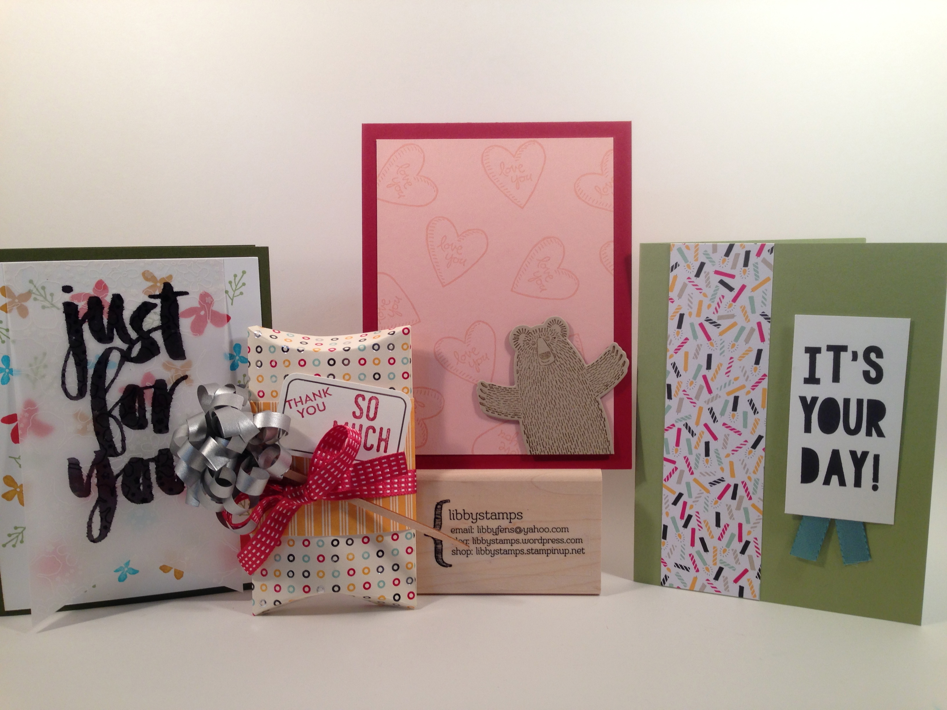 libbystamps, Stampin Up, Party Pop-Up Thinlits, Bear Hugs, Bear Hugs Framelits, It's My Party DSP, Botanicals For You, Botanical Gardens Vellum