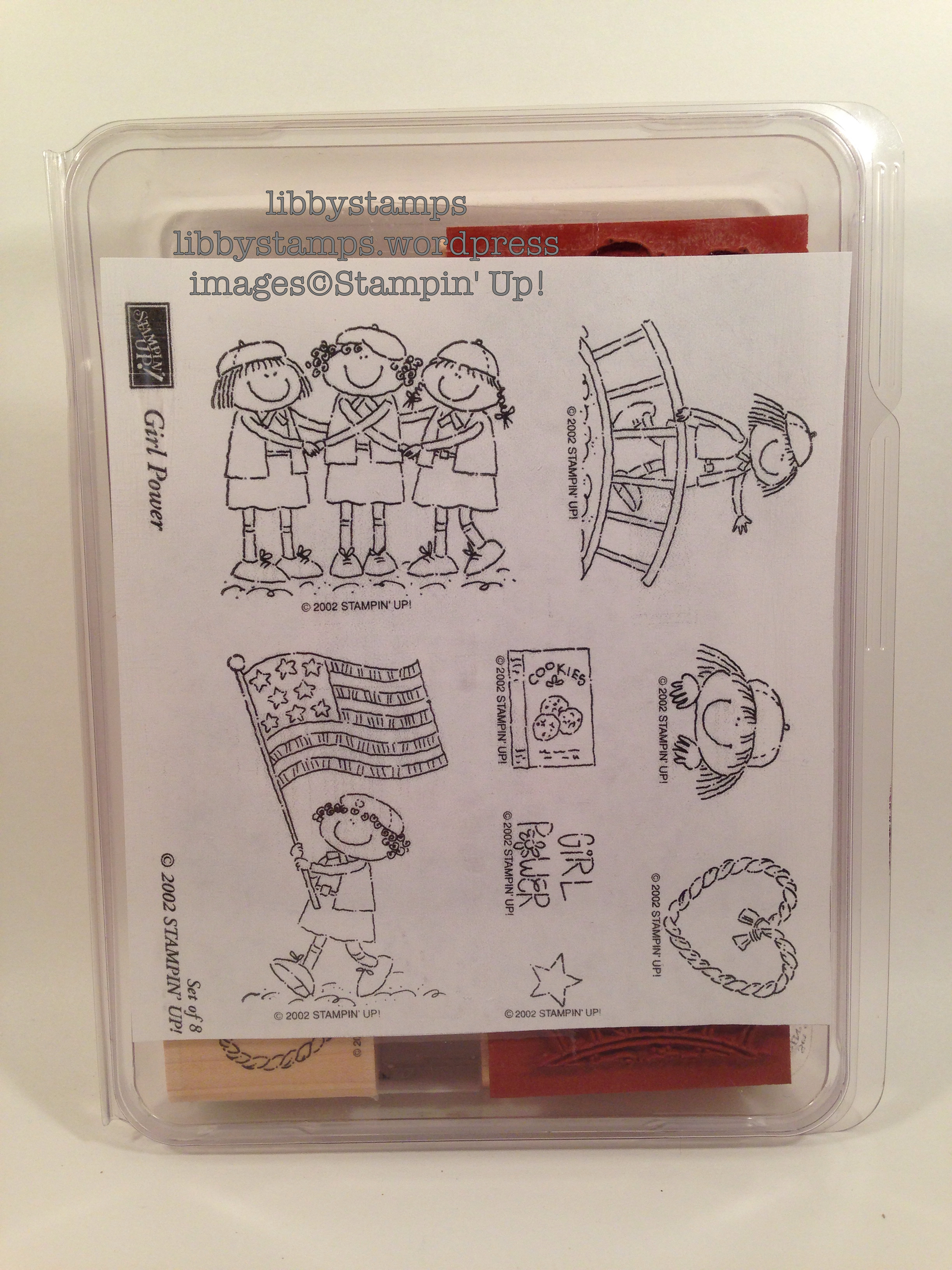 libbystamps, Stampin Up, BFBH April