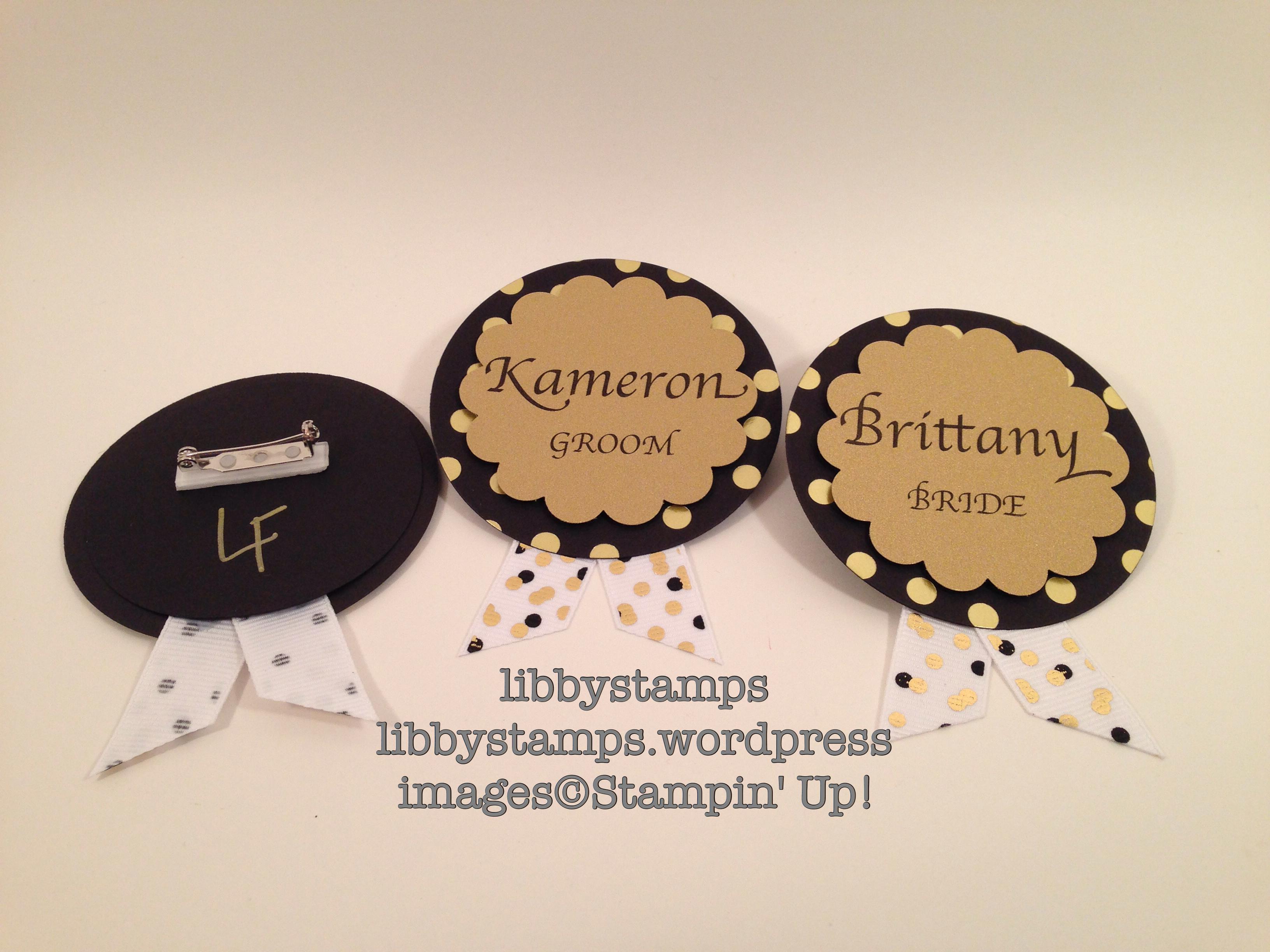 libbystamps, stampin' up, Cups & Kettle Framelits, Balloon Celebration, wedding, rehearsal dinner,