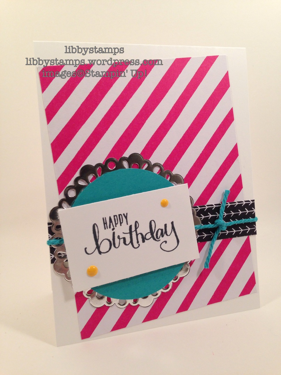 libbystamps, stampin up, All About Everything, It's My Party DSP, Metallic Foil Doilies, #allabouteverything, Card  Buffet