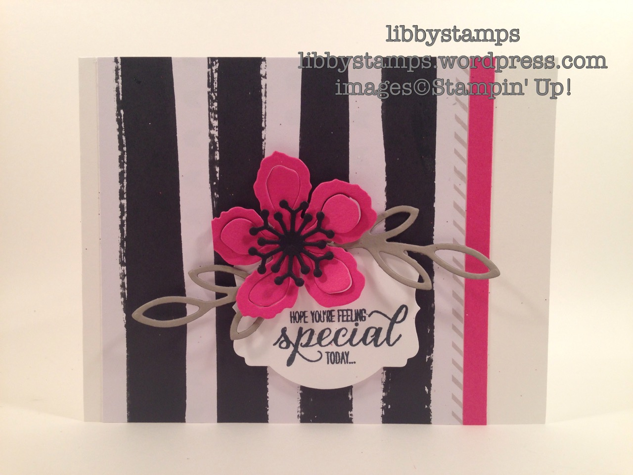 libbystamps, stampin up, Rose Garden Thinlits, Botanical Builder Framelits, Go Wild DSP Stack, Deco Labels, Garden in Bloom, CCMC405