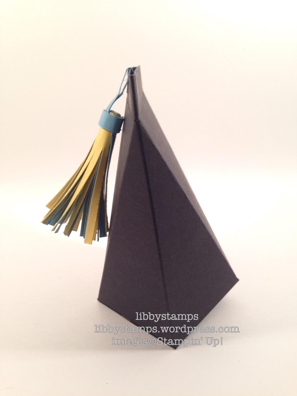 libbystamps, stampin up, WWC67, Graduation, self closing box, UCLA