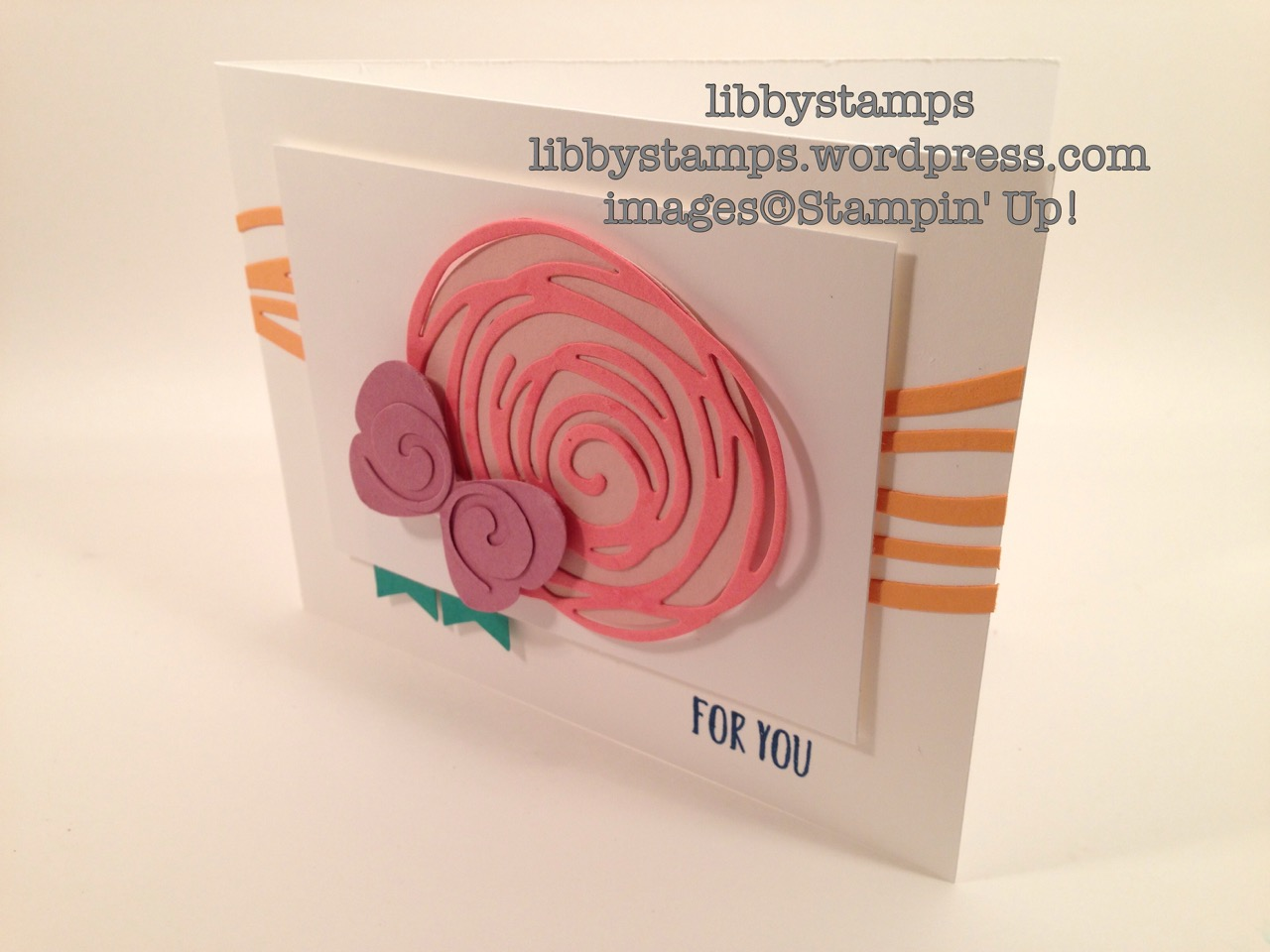 libbystamps, stampin up, Perfectly Wrapped, Swirly Scribbles Thinlits, Banner Punch, 2016-2018 In Color, TSOT273