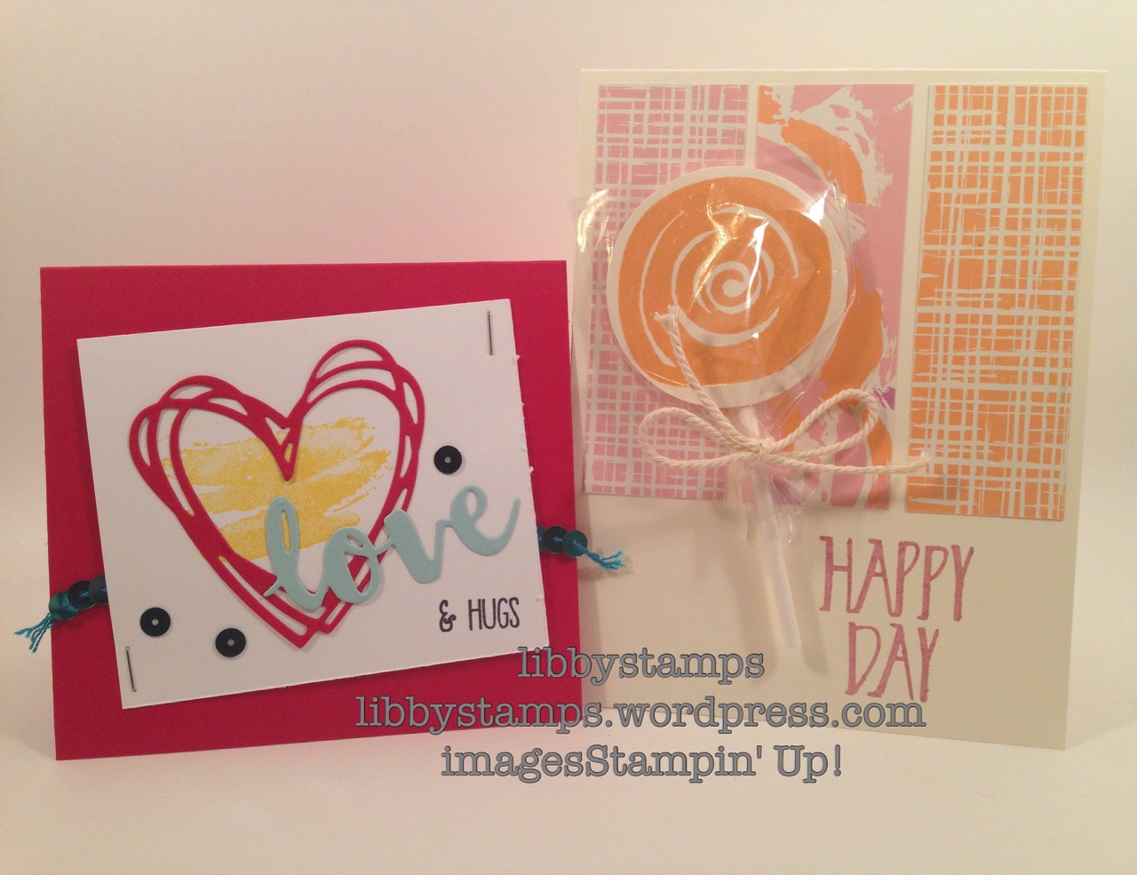 libbystamps, stampin up, Open House, catalog fun