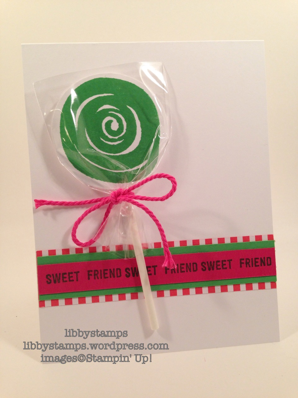libbystamps, stampin up, Thoughtful Banners, Swirly Bird, We Create, lollipop card, summer
