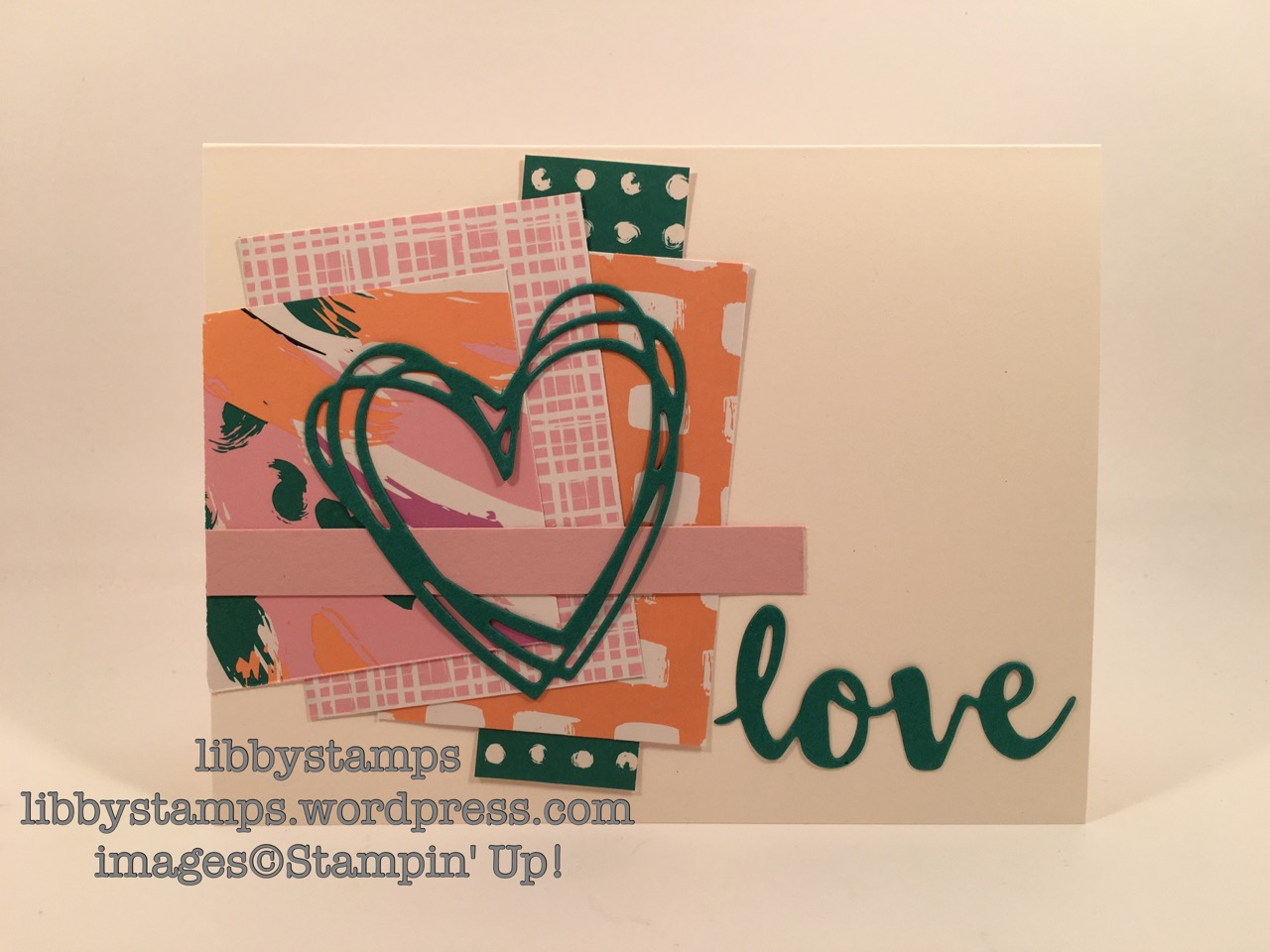 libbystamps, stampin up, Sunshine Wishes Thinlits, Playful Palette DSP, CCMC419