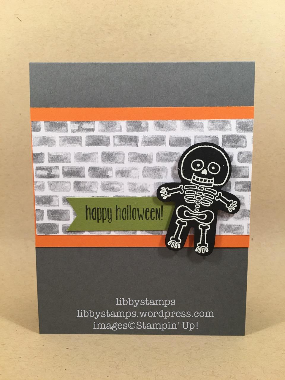 libbystamps, stampin up, Spooky Fun, Cookie Cutter Halloween, Cookie Cutter Builder Punch, CCMC423, Halloween