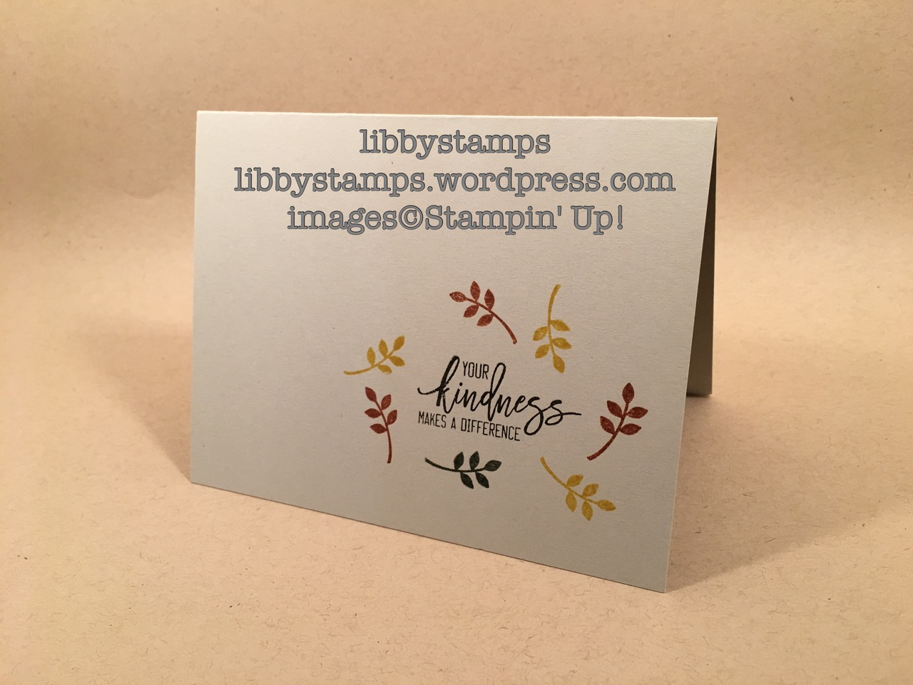 libbystamps stampin up, Thoughtful Branches, WWC86, simply stamping