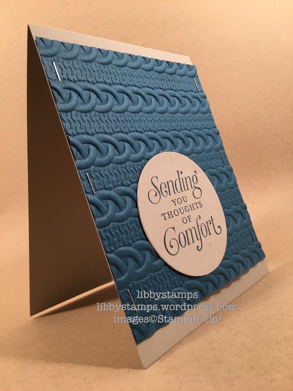 libbystamps, stampin up, Suite Seasons, Cable Knit Dynamic EF, Layering Circles Framelits, Mini Stapler, WWC, masculine