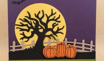 Elegant Halloween Scene