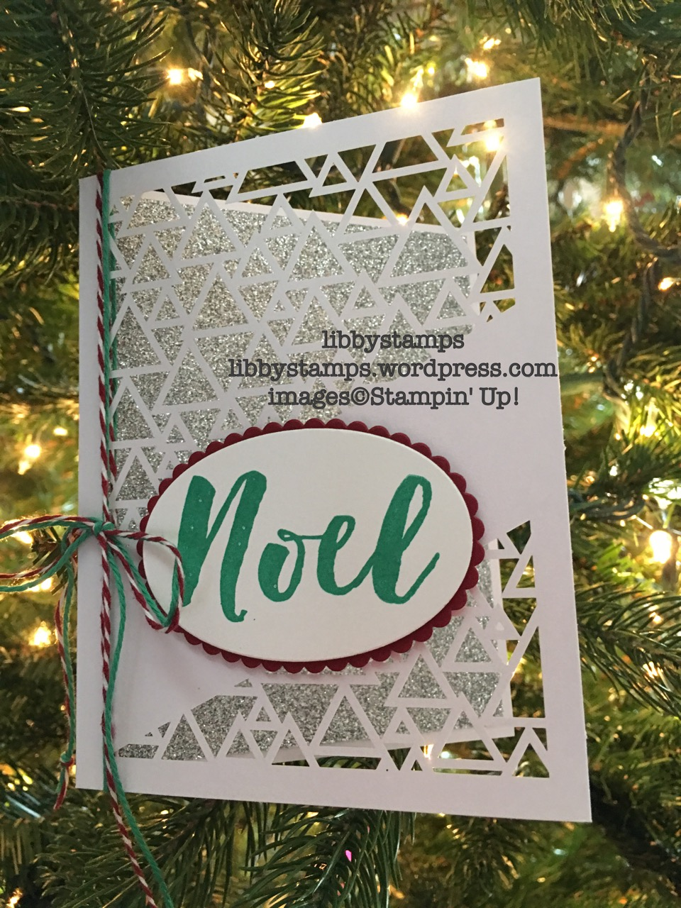 libbystamps, stampin up, Christmas Pines, Layering Ovals Framelits, Many Manly Occasions, Silver Glimmer Paper, Christmas Card