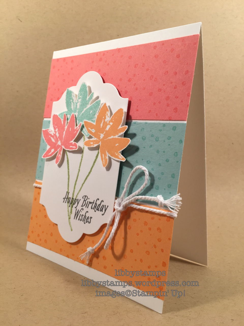 libbystamps, stampin up, Avant Garden, Lots of Labels, tgifc89,birthday card, SAB2017