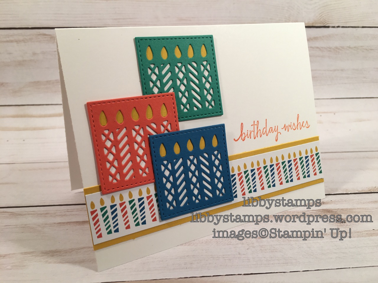 libbystamps, stampin up, Build a Birthday, Window Box Thinlits, Party Animal DSP, Occasions Mini 2017