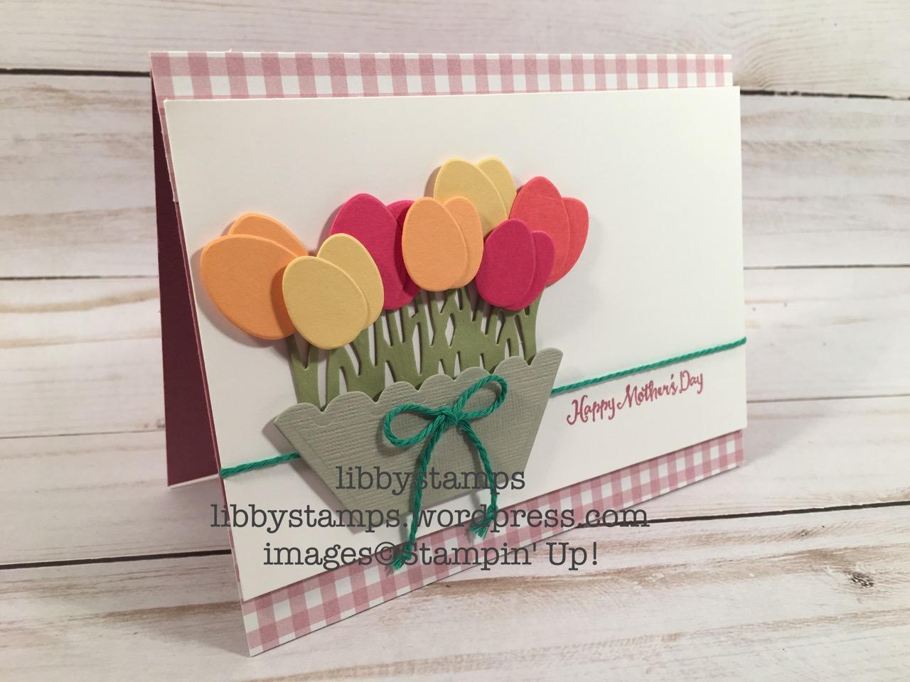 libbystamps, stampin up, Basket Builder Framelits, Oh So Succulent, Window Box Thinlits, Succulent Garden DSP, Emerald Envy Baker's Twine, CCMC