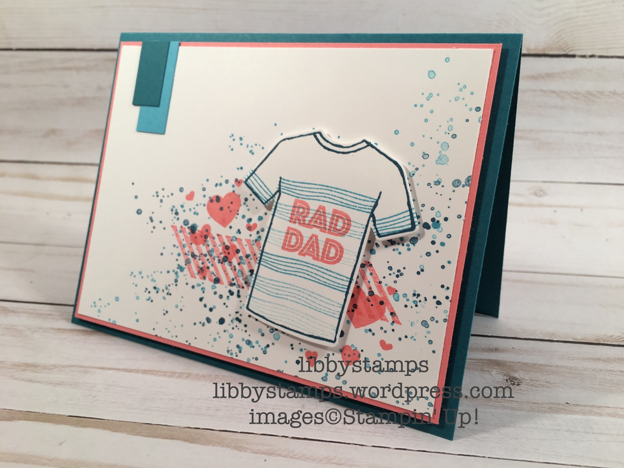 libbystamps, stampin up, Custom Tee, Gorgeous Grunge, Perpetual Birthday Calendar, T-Shirt Builder Framelits, Custom Tee Bundle, CCMC454