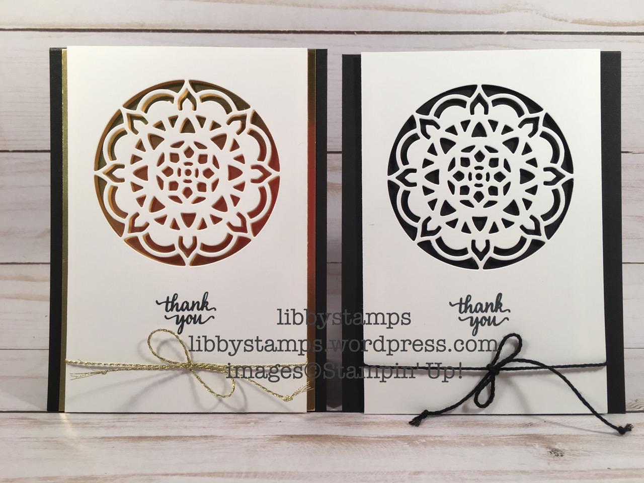 libbystamps, stampin up, Eastern Beauty Bundle, We Create, Eastern Beauty, Eastern Medallions Thinlits