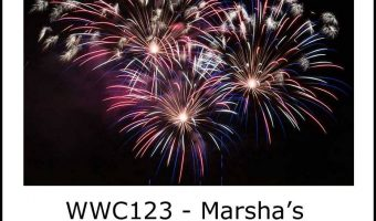 Watercooler Wednesday #123 – Marsha's 'Fireworks' Themed Challenge