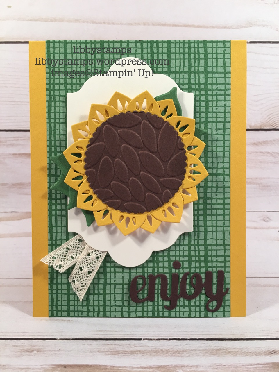 libbystamps, stampin up, Eastern Medallions Thinlits, Lots of Labels Framelits, Layering Circles Framelits, Mini Treat Bag Thinlits, Petal Burst Embossing Folder, This Christmas DSP, Venetian Crochet Trim