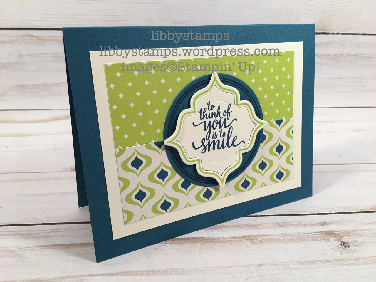 libbystamps, stampin up, Eastern Beauty, Eastern Beauty Bundle, Eastern Palace Specialty DSP, Eastern Medallions Thinlits, Layering Circles Framelits, WWC