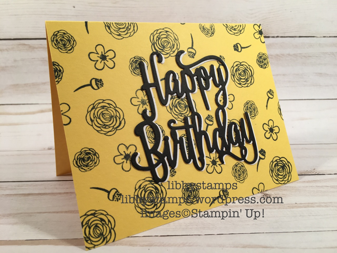 libbystamps, stampin up, Happy Birthday Gorgeous, , Happy Birthday Gorgeous Bundle, Happy Birthday Gorgeous, Happy Birthday Thinlits, feminine card, WWC