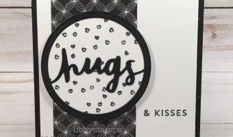 It's Black & White, Hugs & Kisses