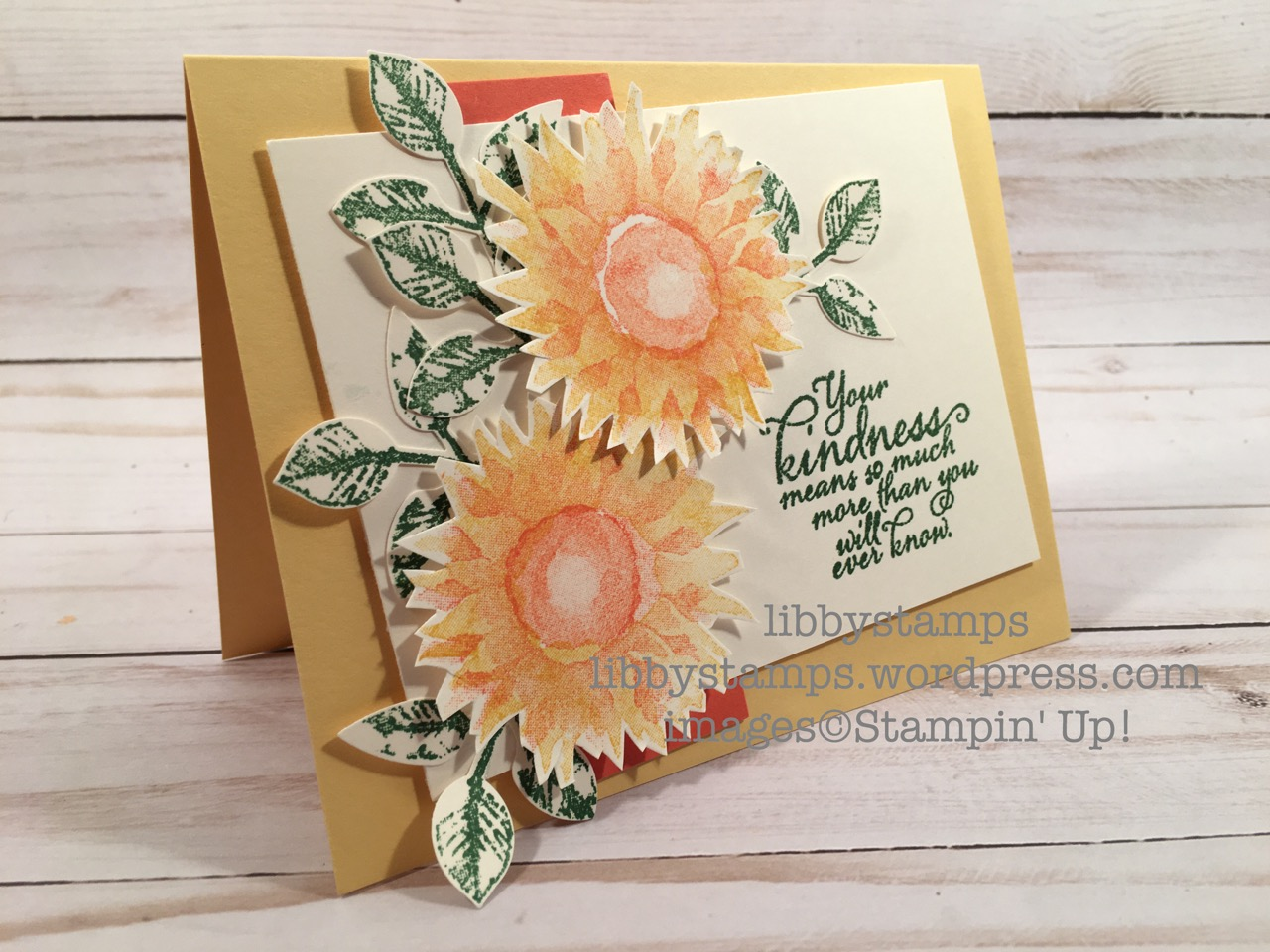 libbystamps, stampin up, Painted Harvest, Painted Harvest Bundle, Leaf Punch, fall, Holiday 2018 Mini