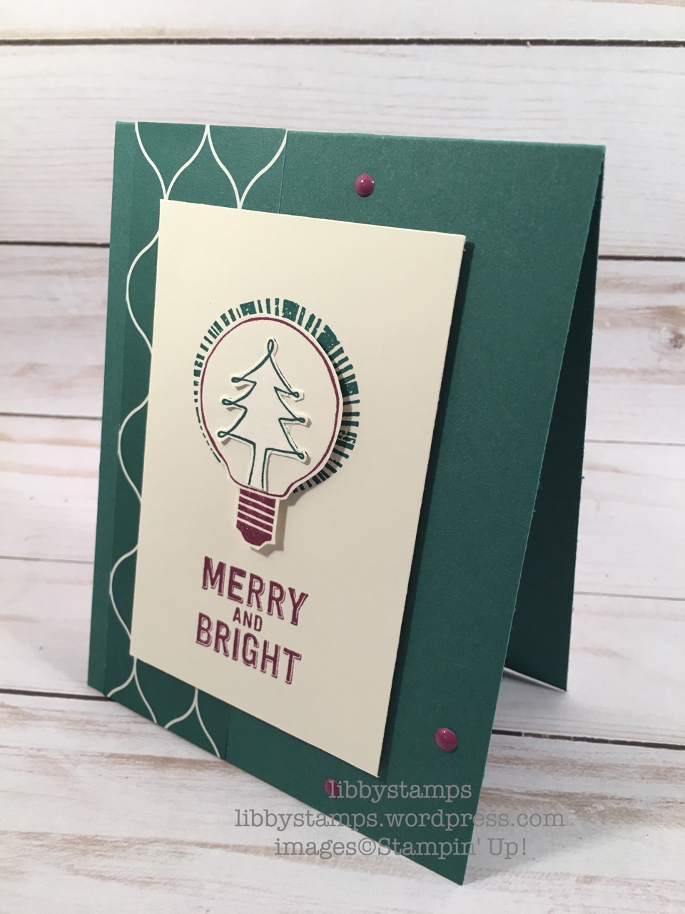 libbystamps, stampin up, Watts of Occasions, Eastern Palace Specialty DSP, nontraditional Christmas, CCMC