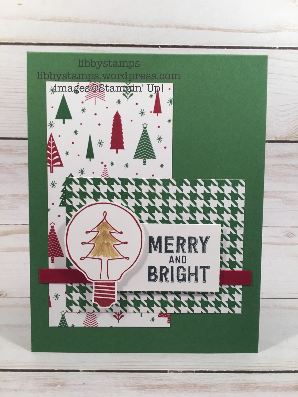 libbystamps, stampin up, Watts of Occasions, Be Merry, Gold Wink of Stella, WWC