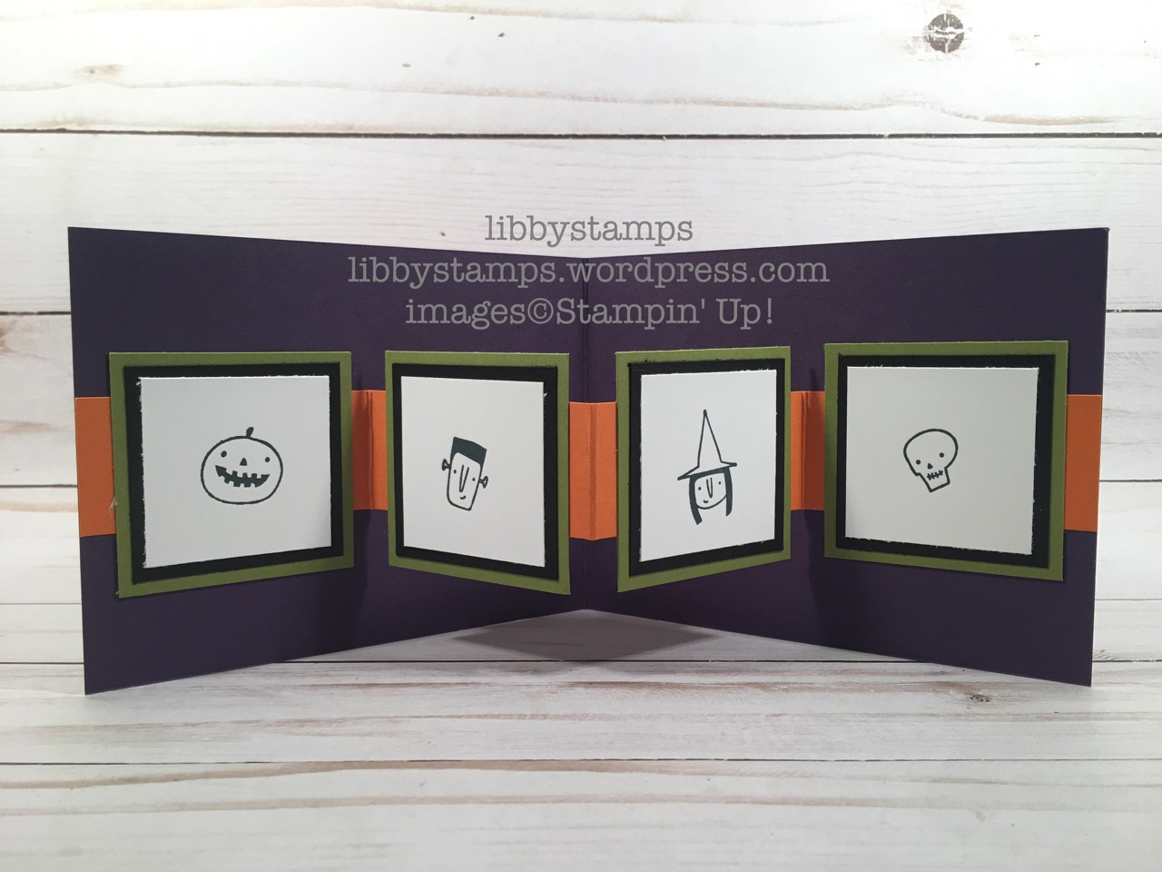 libbystamps, stampin up, Creep it Real, Merry Little Christmas DSP, Black Mini Sequin Trim, CCMC, Pop Up Card