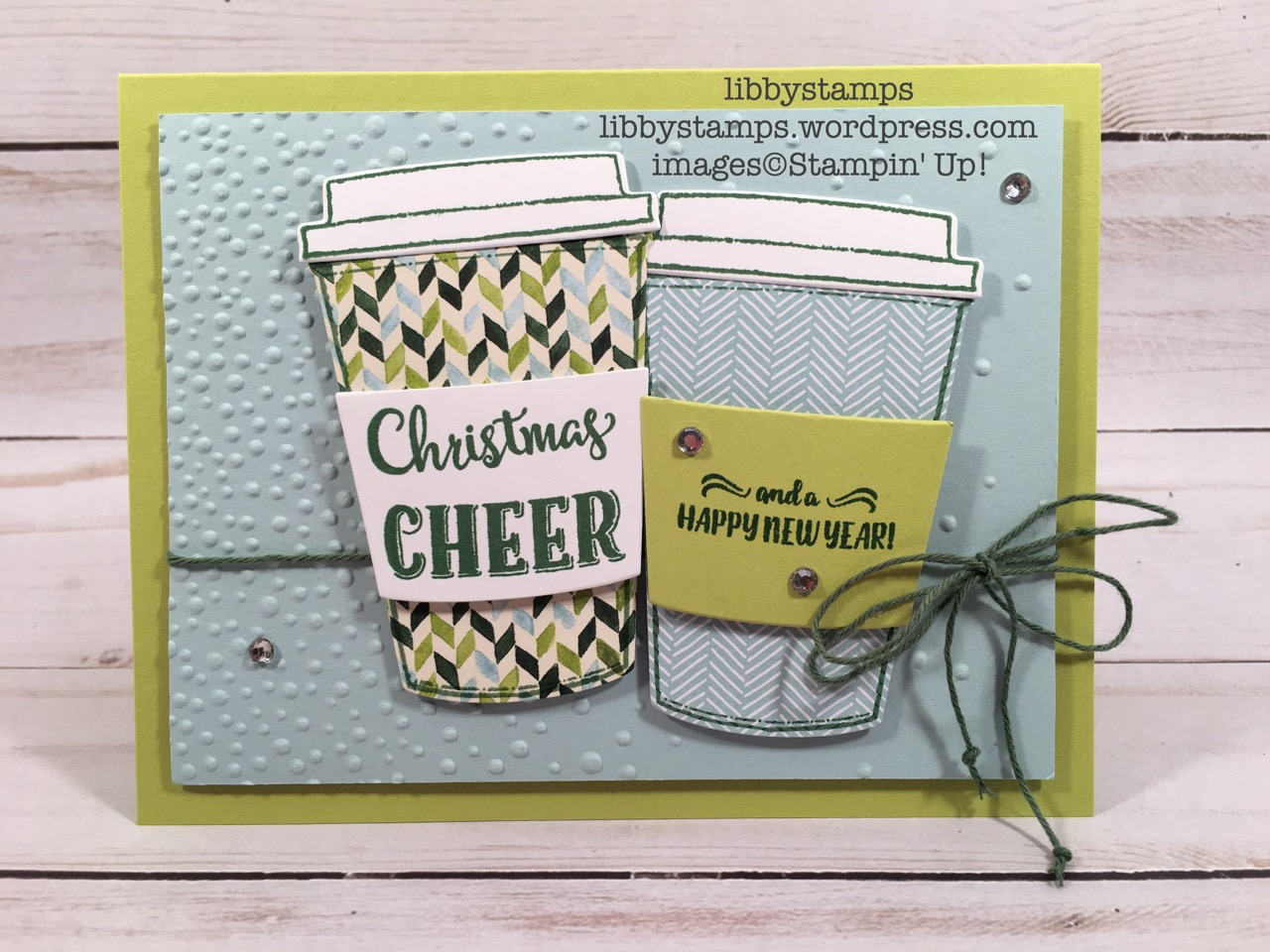 libbystamps, stampin up, Merry Cafe, Coffee Cups  Framelits, Painted Autumn  DSP, Coffee Break  DSP, CCMC