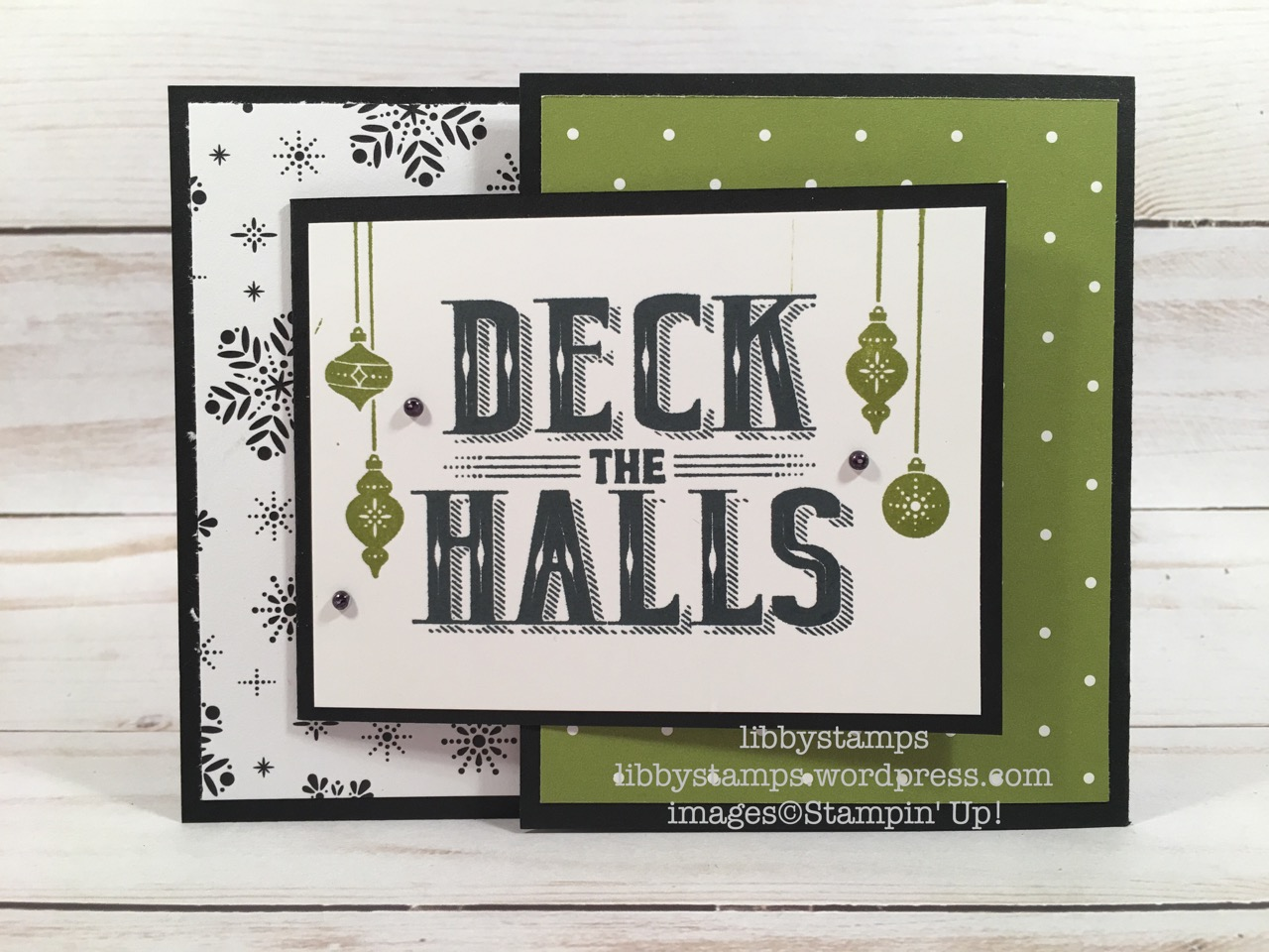 libbystamps, stampin up, Carols of Christmas, Hang Your Stocking, Merry Little Christmas