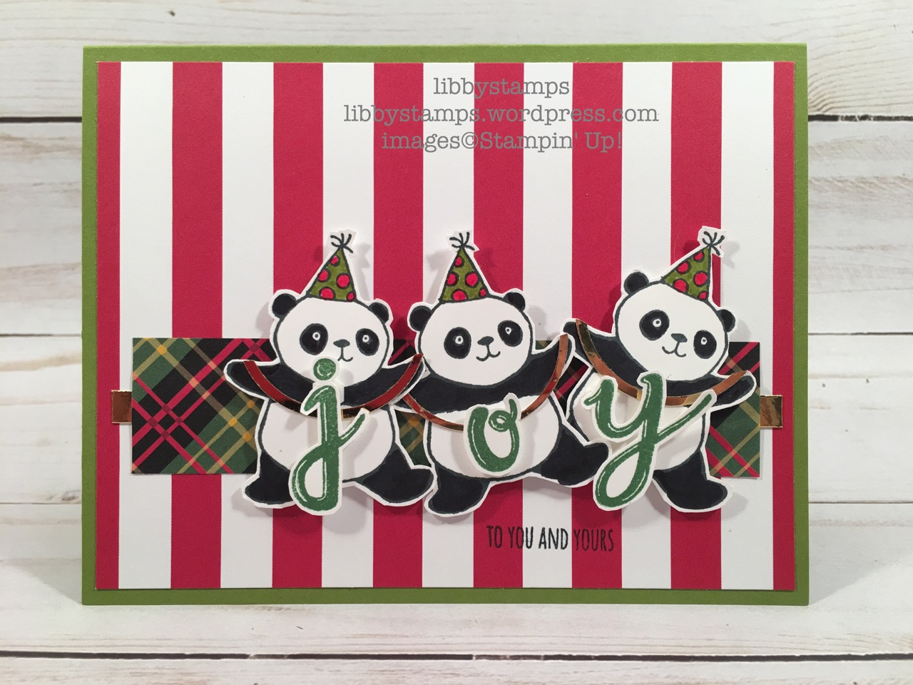 libbystamps, stampin up, Watercolor Christmas Project Kit