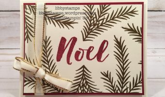 Vanilla, Gold, Cherry – Create with Connie and Mary Saturday Blog Hop
