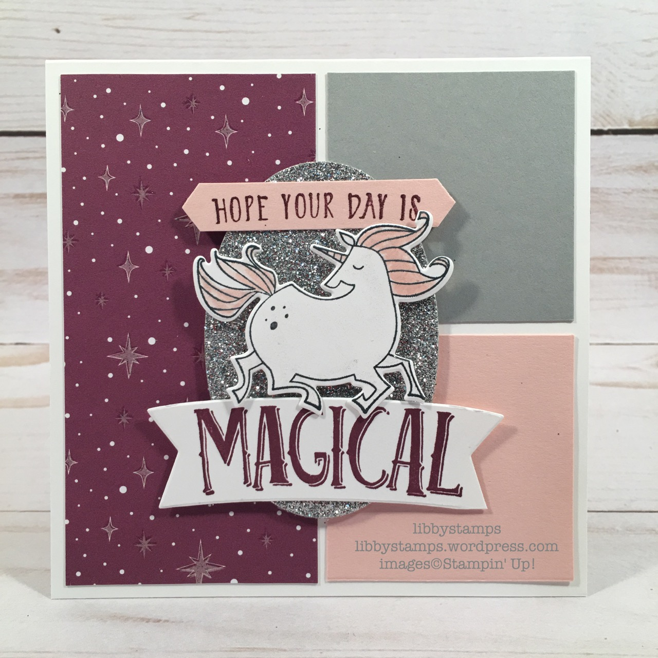 libbystamps, stampin up, Magical Mates Framelits, Magical Day, Magical Day Bundle, Myths & Magical DSP, Layering Ovals Framelits, Classic Label Punch, CCMC