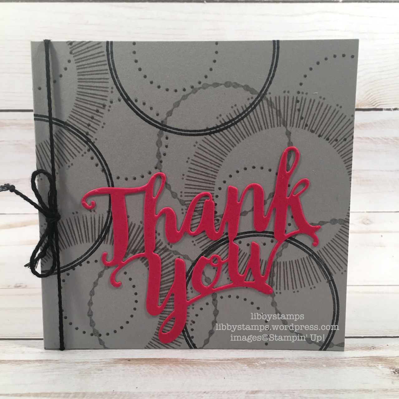 libbystamps, stampin up, Bouquet Blooms, Eastern Beauty, Thank You Thinlits, CCMC