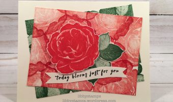 """Every Rose Has It's Thorns"" – Create with Connie and Mary Saturday Blog Hop"