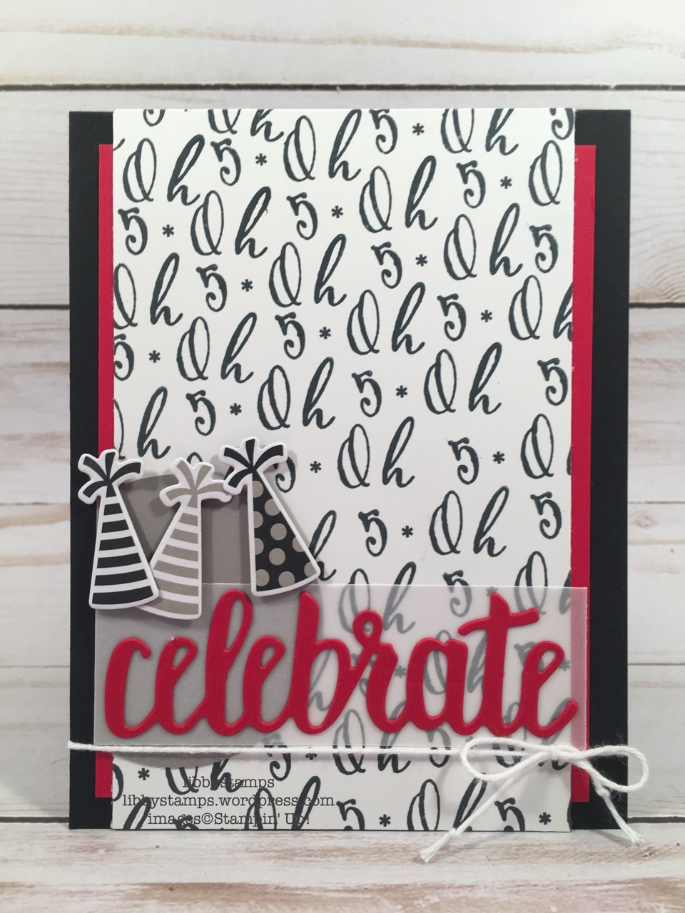 """libbystamps, stampin up, Make a Difference, Broadway Lights Framelits, Celebrate You Thinlits, 2 1/4"""" Circle Punch, CCMC"""