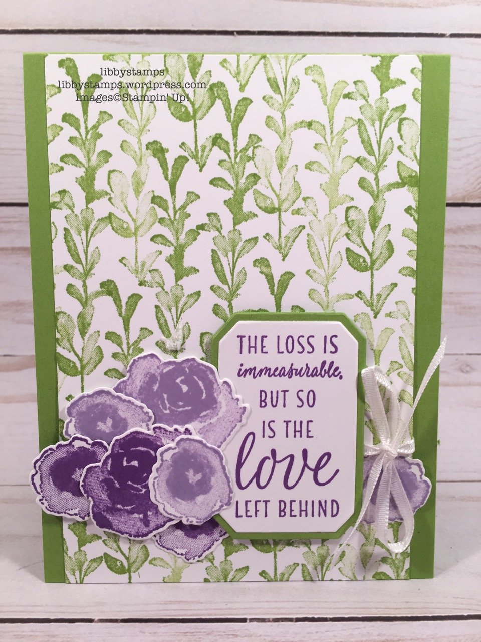 libbystamps, Stampin' Up!, First Frost, Frosted Bouquet Framelits, First Frost Bundle, CCMC, Blissful Blooms Paper Pumpkin