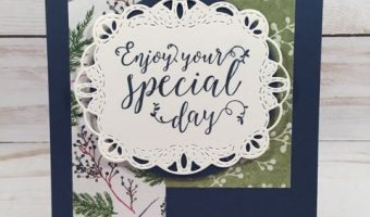 Frosted Floral Special Day