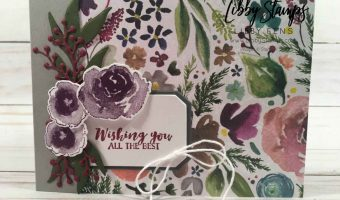 Favorite Designer Series Paper – Create with Connie and Mary Saturday Blog Hop