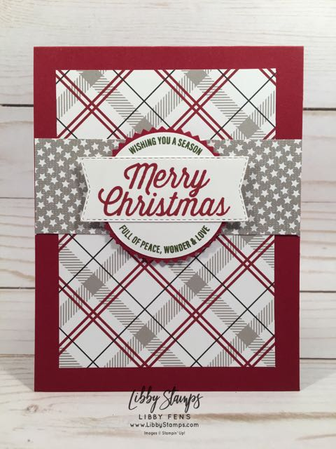 libbystamps, Stampin' Up!, Farmhouse Christmas, Farmhouse Framelits, Farmhouse Christmas Bundle, Festive Farmhouse Suite, Festive Farmhouse DSP, Starburst Punch