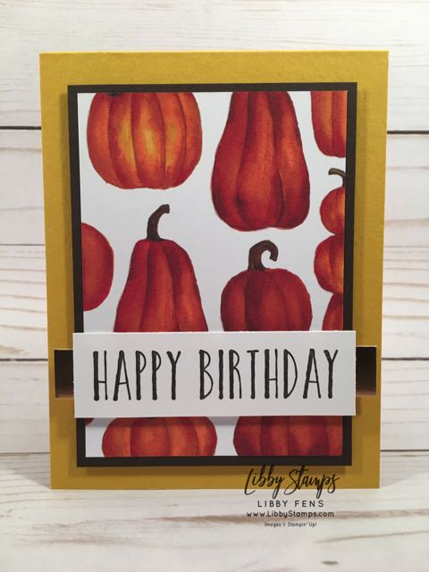 libbystamps, Stampin' Up!, Perennial Birthday, Toil & Trouble DSP, Copper Foil, ctd514