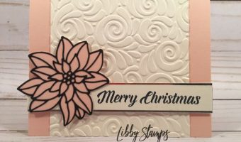 Favorite Embossing Folder – Create with Connie and Mary Saturday Blog Hop