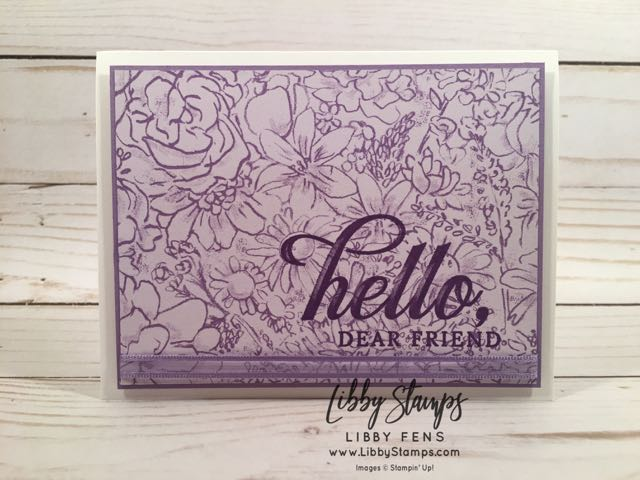 libbystamps, Stampin' Up!, Life is Grand, Botanical Butterfly DSP, Stamparatus, Organdy Ribbon Combo Pack, Sale-a-bration 2019, CCMC