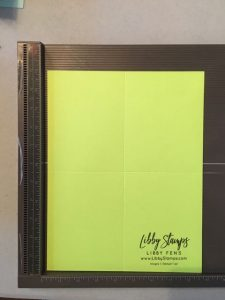 libbystamps, Stampin' Up!, gift card holders, pictorial tutorial